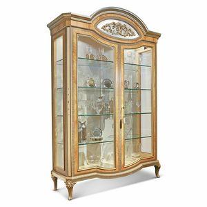 AGNES / vitrina, Vitrina de lujo, con detalles incrustados