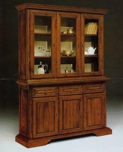 Art. 81/10, Gran vitrina en estilo toscano '800
