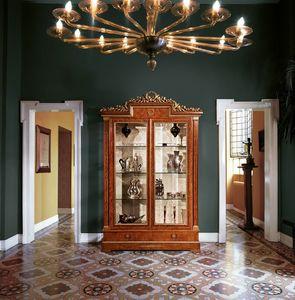 Art. 918, Vitrina con 2 puertas de vidrio para salas de estar
