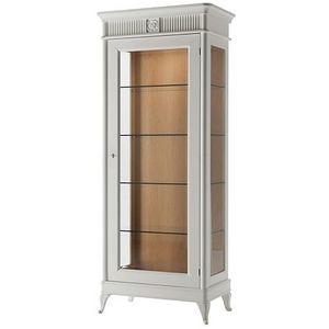 Art. CA111, Escaparate en estilo clásico, con estantes de cristal