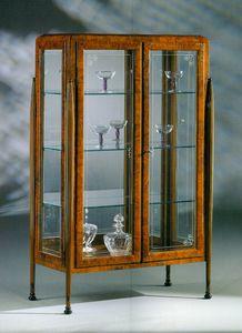Art Déco Art.532 vitrina, Escaparate de estilo Art Deco