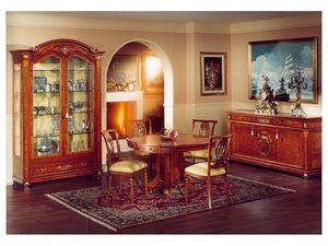 DUCALE DUCVE2P / Display cabinet with 2 doors, Vitrina de madera de fresno con 2 puertas de vidrio