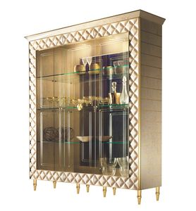 SIPARIO Vitrina 3, Vitrina clásica con 3 puertas de vidrio
