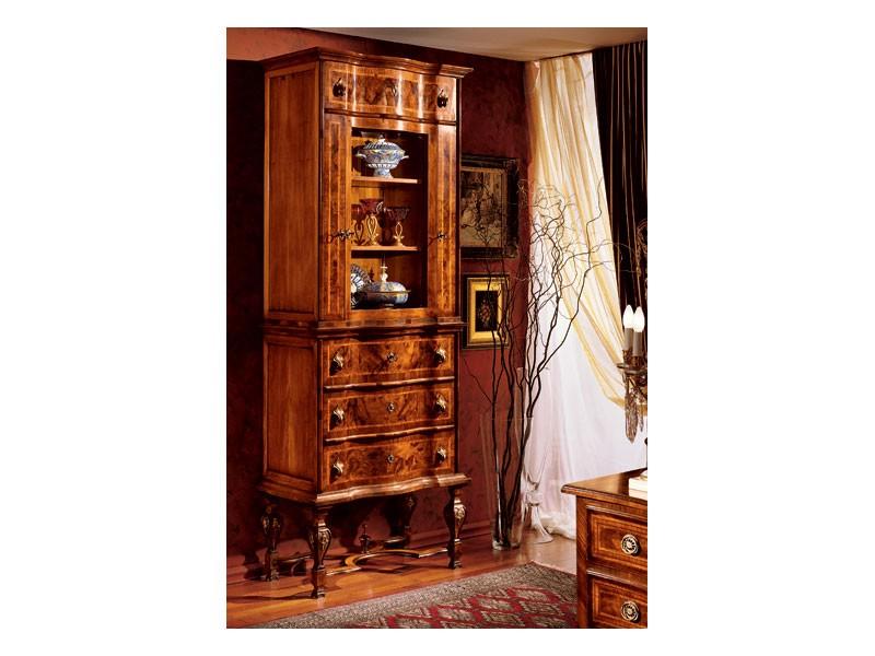Venezia cabinet 100, Vitrina para cocina clásica