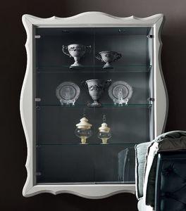 Alice Art. 532-G, Escaparate de pared, con estantes de vidrio
