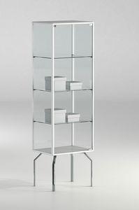 ALLdesign plus 51/17P, Vitrina para tienda, con perfiles de aluminio