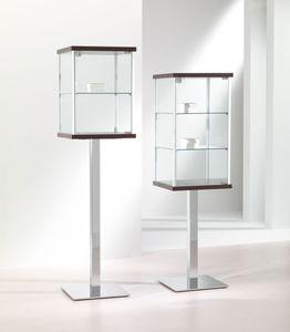 ALLdesign 2/PF - 3/PF, Vitrina de cristal, vitrinas, Tiendas escaparate Contemporáneo, Casa, Exposiciones