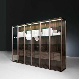 Teca Day, Moderno vitrina ideal para comedores o salas de estar