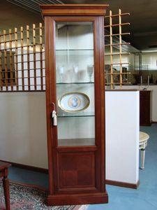 Art. 109, Vitrina de una sola puerta, con estantes de vidrio