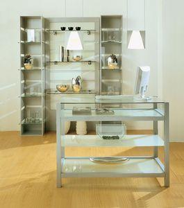 Aury 80/BA, Tienda de muebles, vitrinas, muebles modulares Tiendas de espacio comercial, Boutiques, Showroom