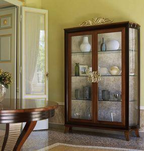 Grand Etoile Art. GE004, Vitrina con laterales de cristal.