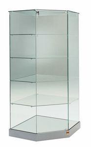 Laminato 182/AG, Vitrina de cristal de esquina