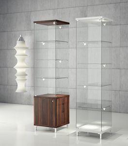 Quadratum Q/45 - Q/45M, Vitrinas, escaparate moderno, para la joyería