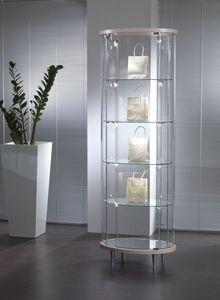 Top Line 3 203/OP, Vitrina de cristal, para las tiendas y salas de estar