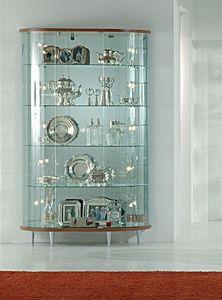 Top Line 3 3/M, Vitrina de cristal, tiendas de muebles