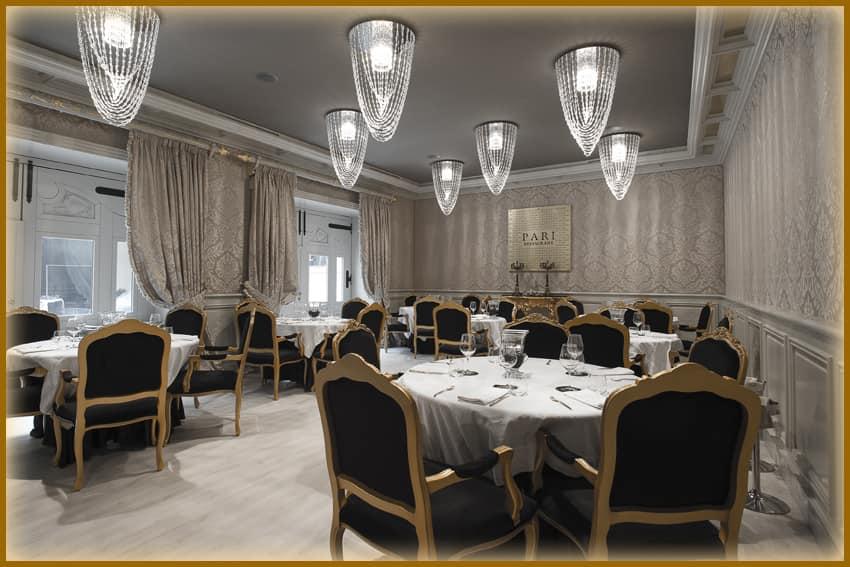 Restaurante Parì Luxury Hall